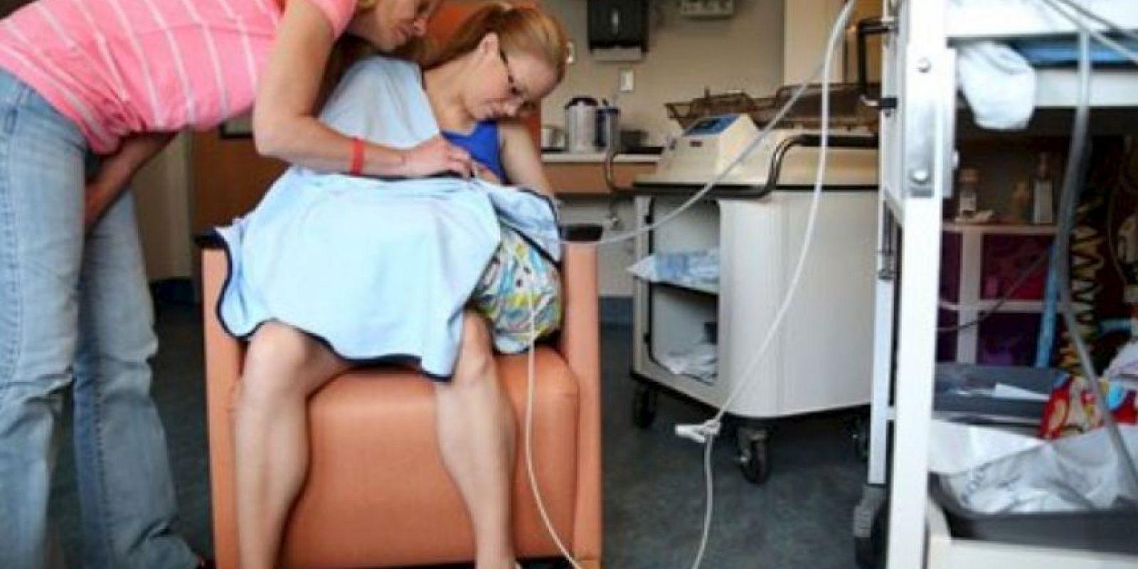 Al niño le hicieron una traqueotomía luego de nacer. Foto:vía AP