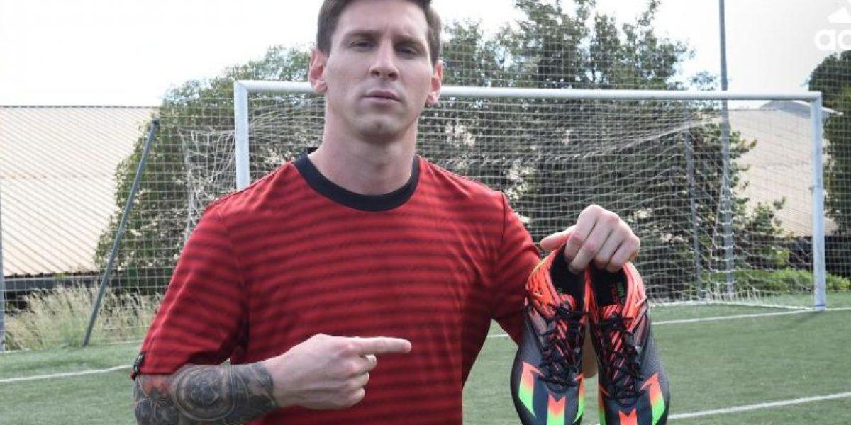 Adidas confirma que Messi sí jugará el clásico y con botas nuevas