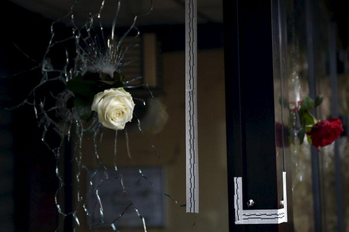 Muestras de solidaridad tras los atentados terroristas en París. Foto:AFP