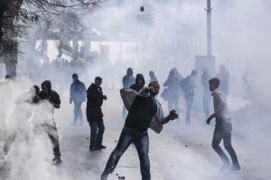 Protestas en Kosovo Foto:AFP