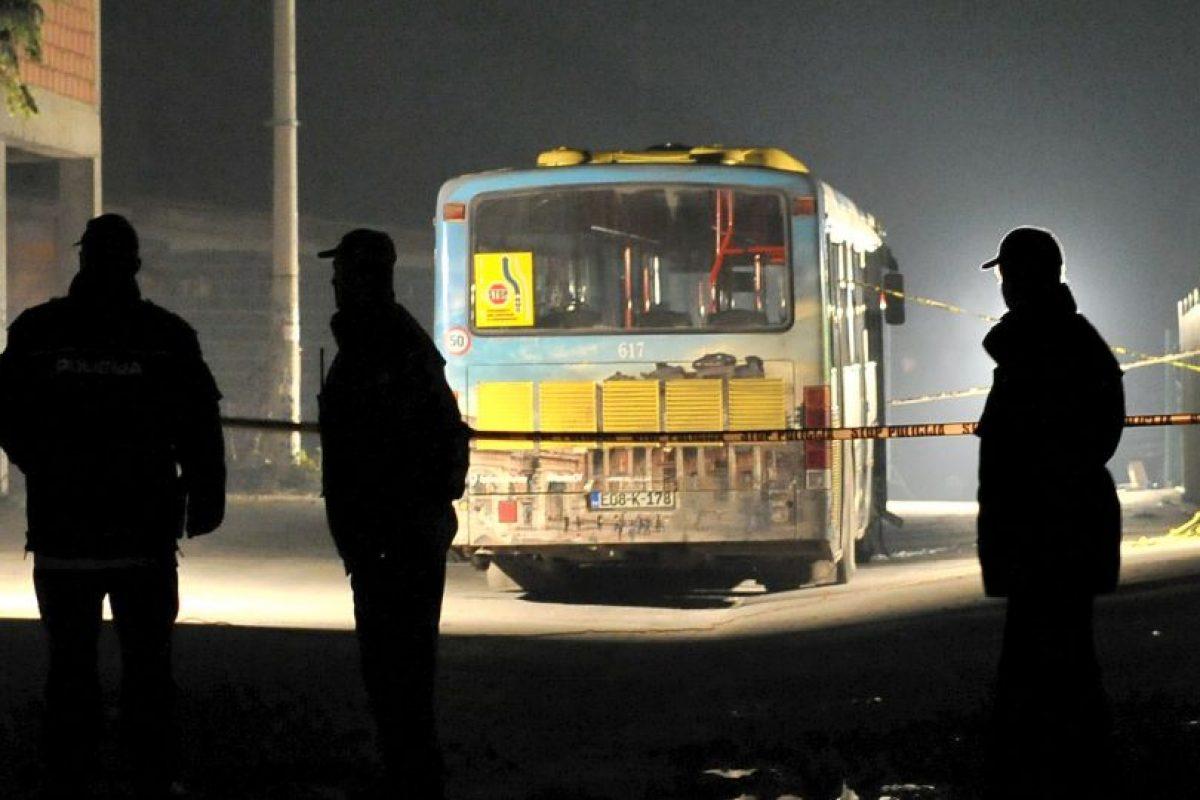 Atentado terrorista en Bosnia, este dejó un saldo de dos soldados muertos. Foto:AFP