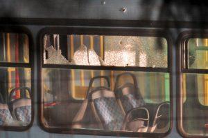 Estos fueron tiroteados con un arma automática. Foto:AFP