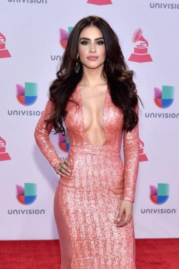 Jessica Cediel presumió sus curvas de infarto. Foto:Getty Images