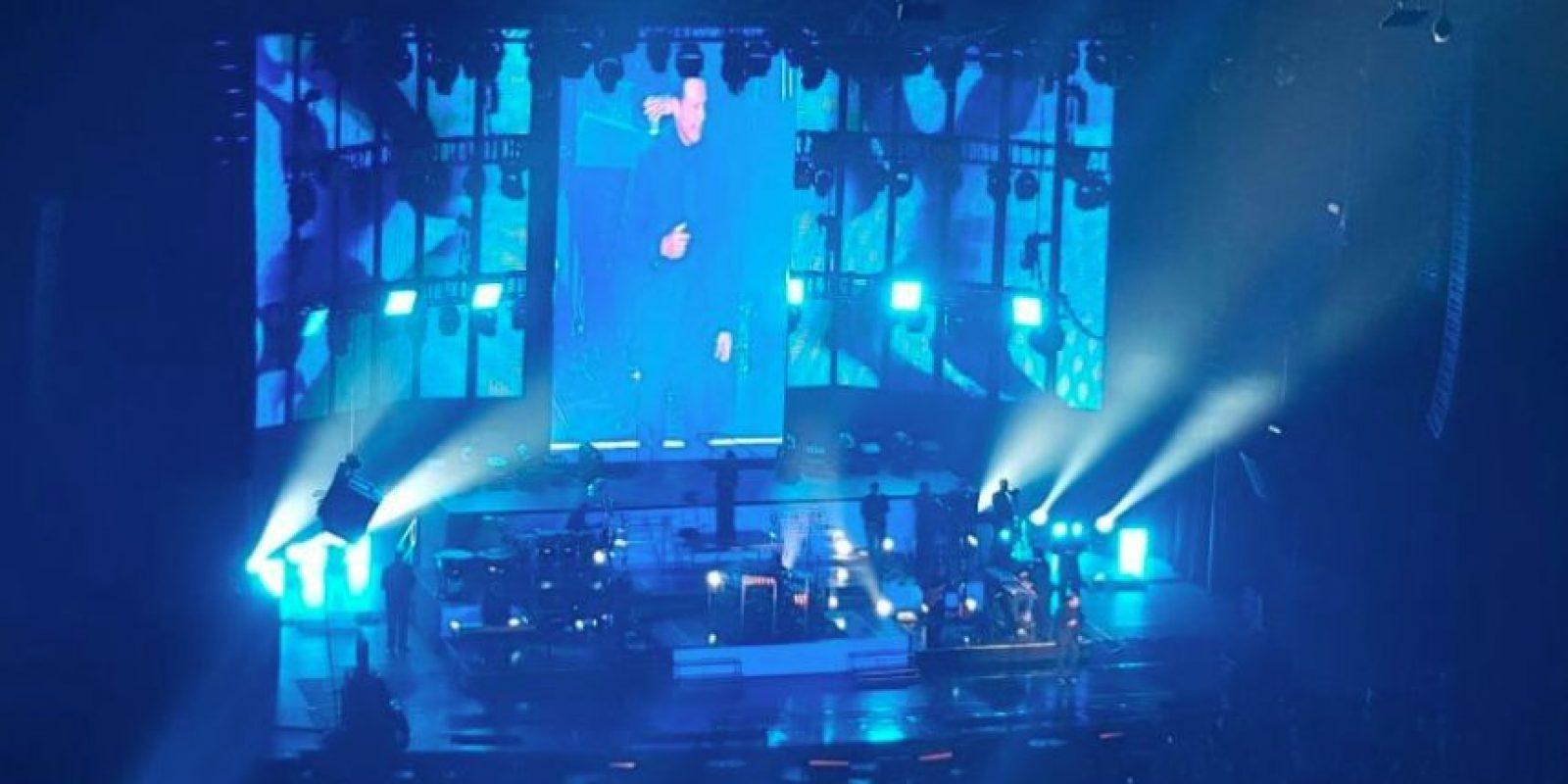 Así lucía el recinto durante la segunda presentación del cantane en la Ciudad de México Foto:Publimetro