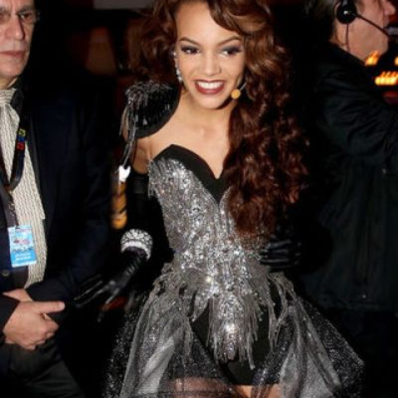 "Leslie Grace olvidó que ni Madonna usa su look de ""Like a Virgin"" ya. Foto: vía Getty Images"