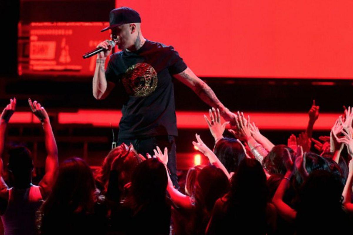 """Nicky Jam ganó por """"Mejor Interpretación Urbana"""" con """"El Perdón"""". Foto:vía Getty Images"""
