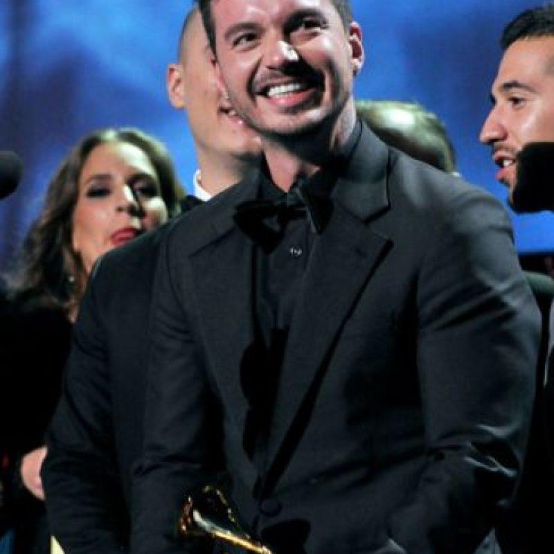 """J Balvin ganó en """"Mejor Canción Urbana"""" por """"Ay vamos"""". Foto:vía Getty Images"""