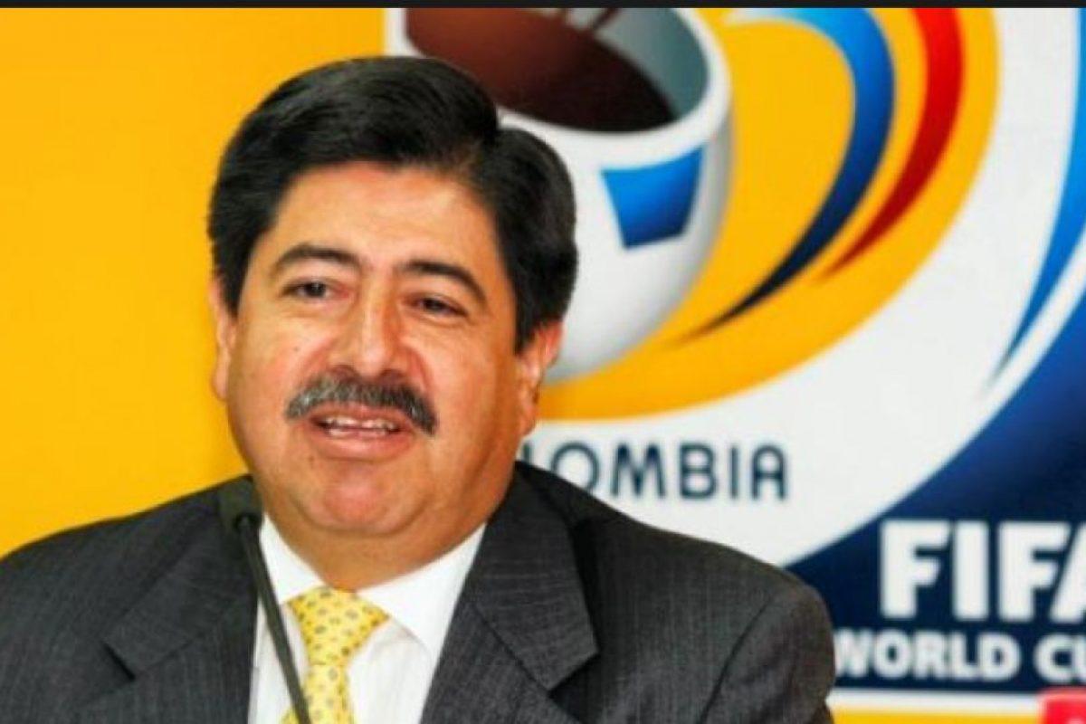El expresidente de la Federación de Fütbol de Colombia abandonó el cargo en condiciones similares a las de Jadue Foto:Getty Images