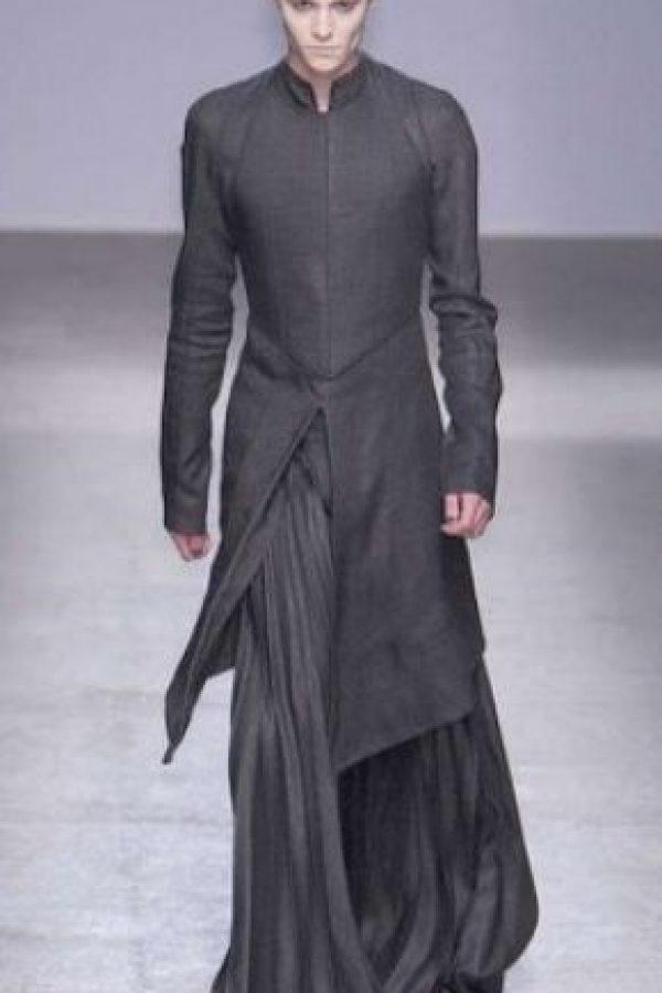 3. El uso de faldas para hombre se implementó desde 2000. Foto:Pinterest