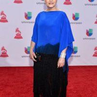 Berta Rojas lo intentó, pero la silueta no le favorece y mucho menos la parte de abajo. Foto:vía Getty Images