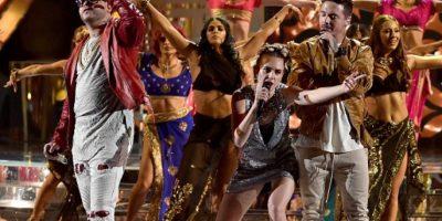 """Se juntaron """"Si necesitas reggaetón"""" y """"Lean On"""". Bhangra, pop y reggaetón. Foto:vía Getty Images"""