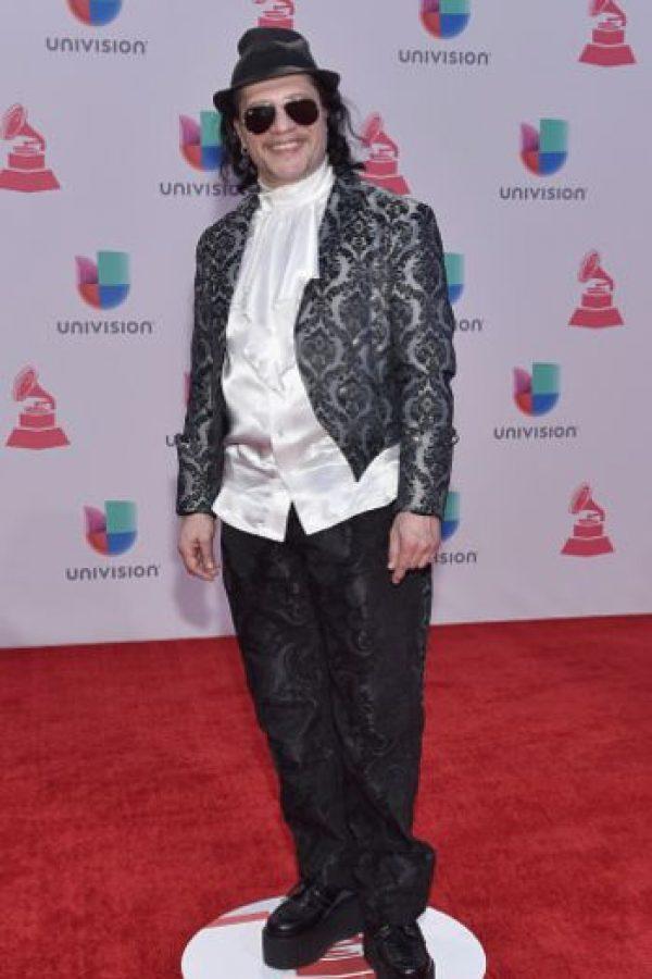 Fernando Otero decidió copiar a John Galliano Foto:vía Getty Images