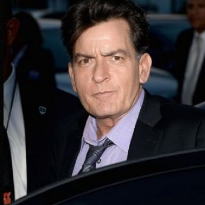 2. Charlie Sheen no tiene SIDA Foto: Getty Images