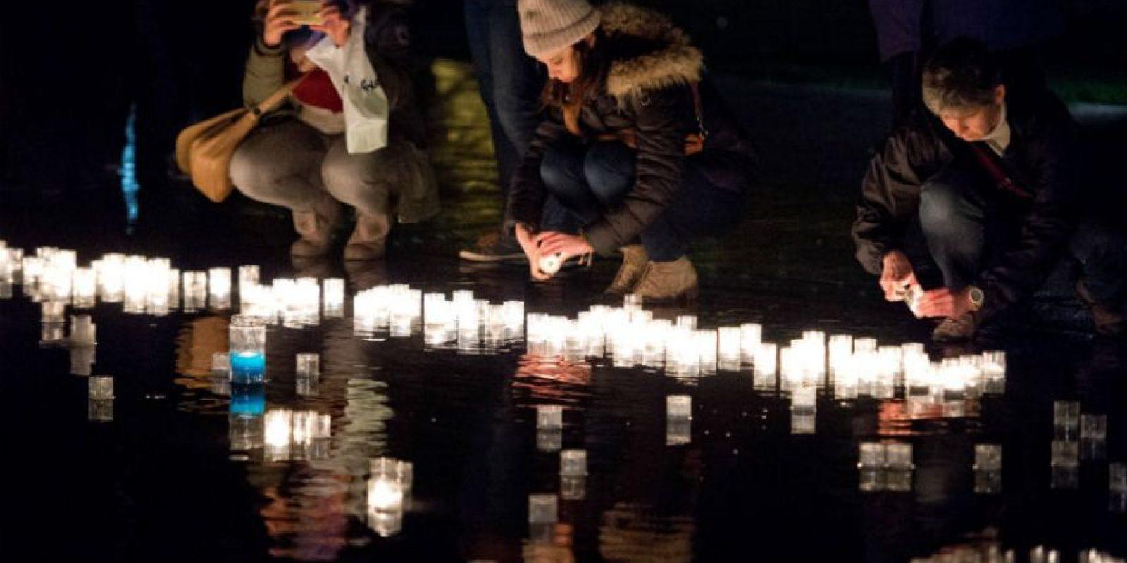 Las lagrimas, gritos, resos estuvieron presentes. Foto:AFP