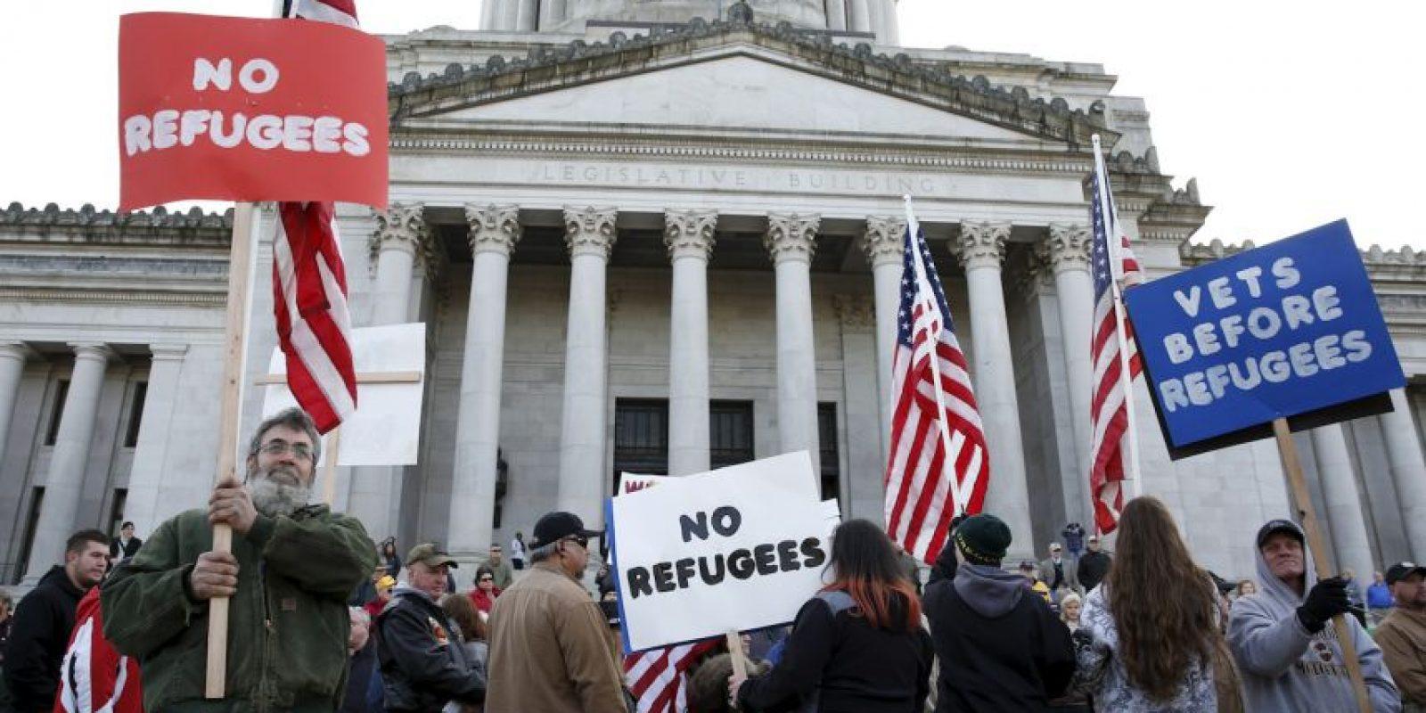 Algunos luchan por que ya no se acepten más refugiados en el territorio. Foto:AFP