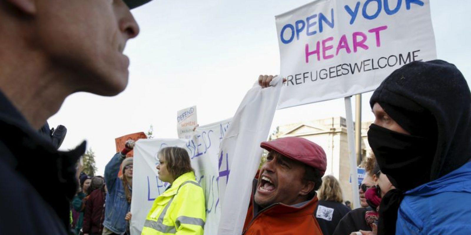 Por otra parte, no todo fue paz y calma. Foto:AFP