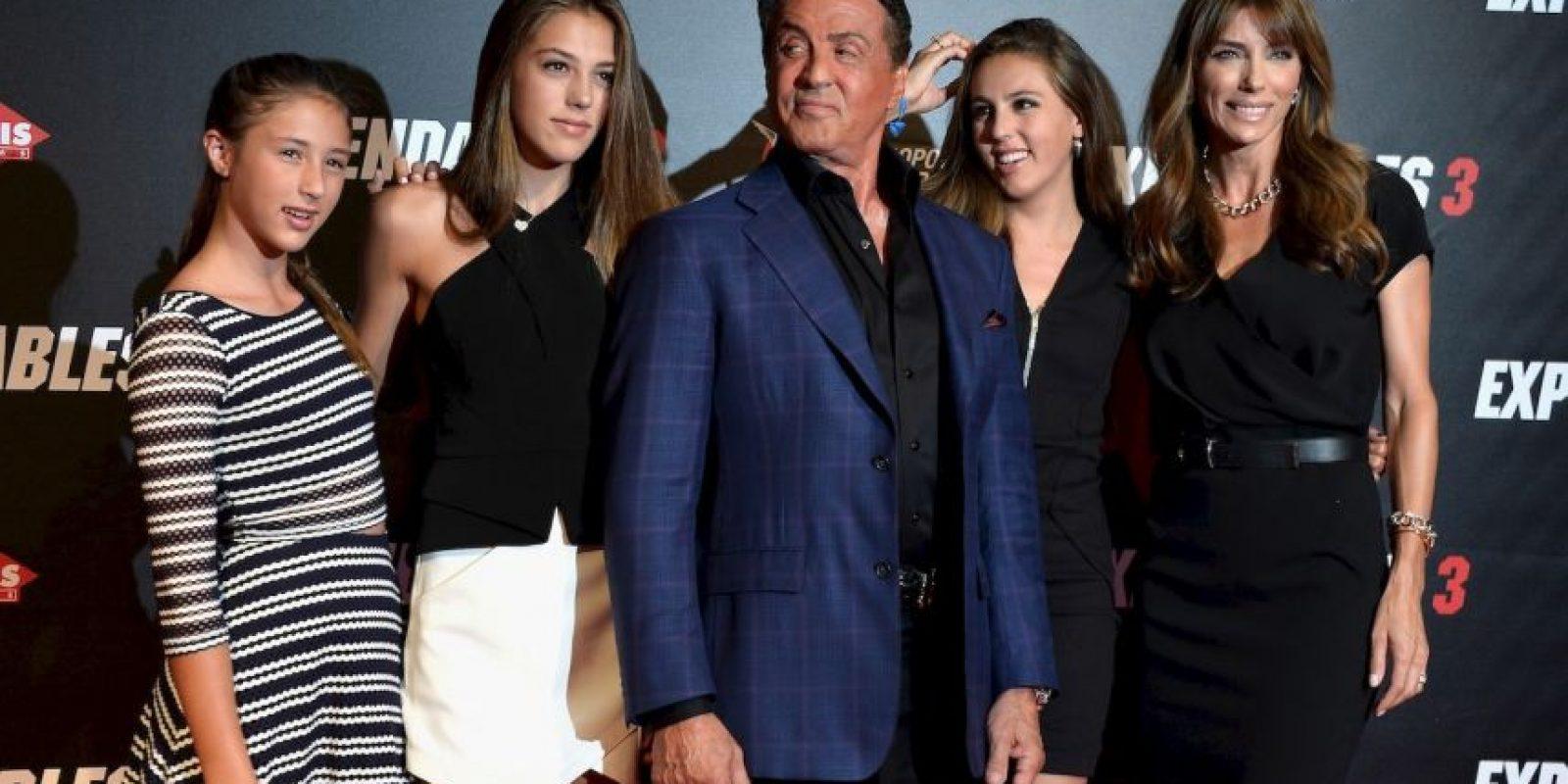 Y todo indica que sus hijas lucen más bellas cada día. Foto:Getty Images