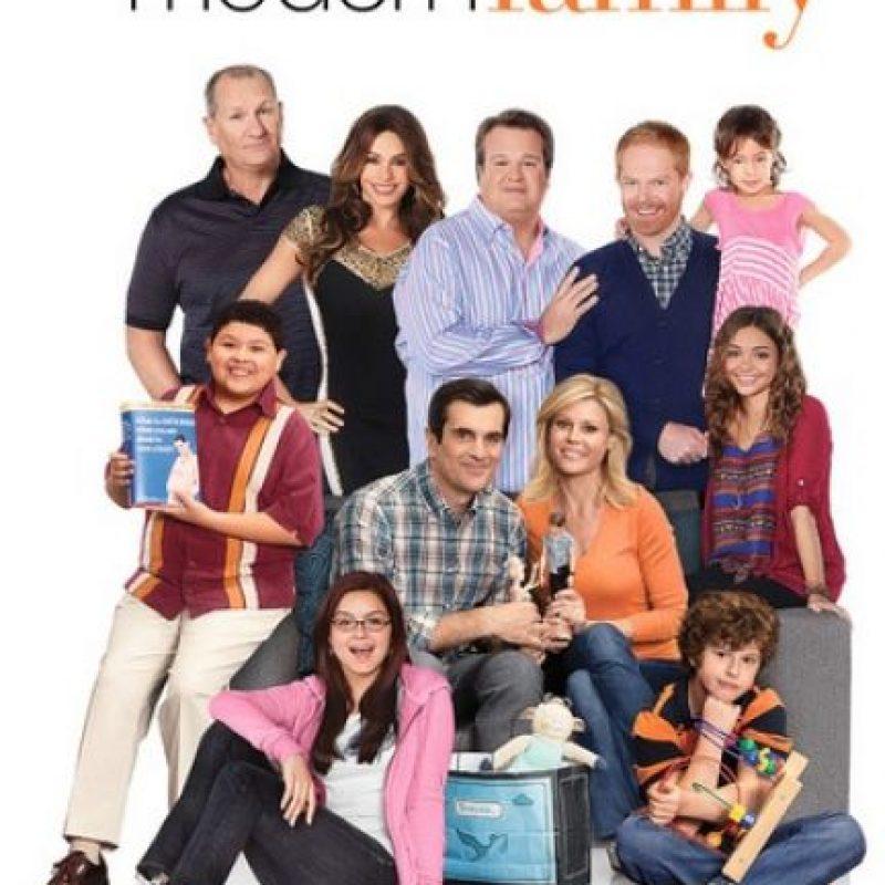 "Además del elenco de la serie ""Modern Family"". Foto:IMDb"