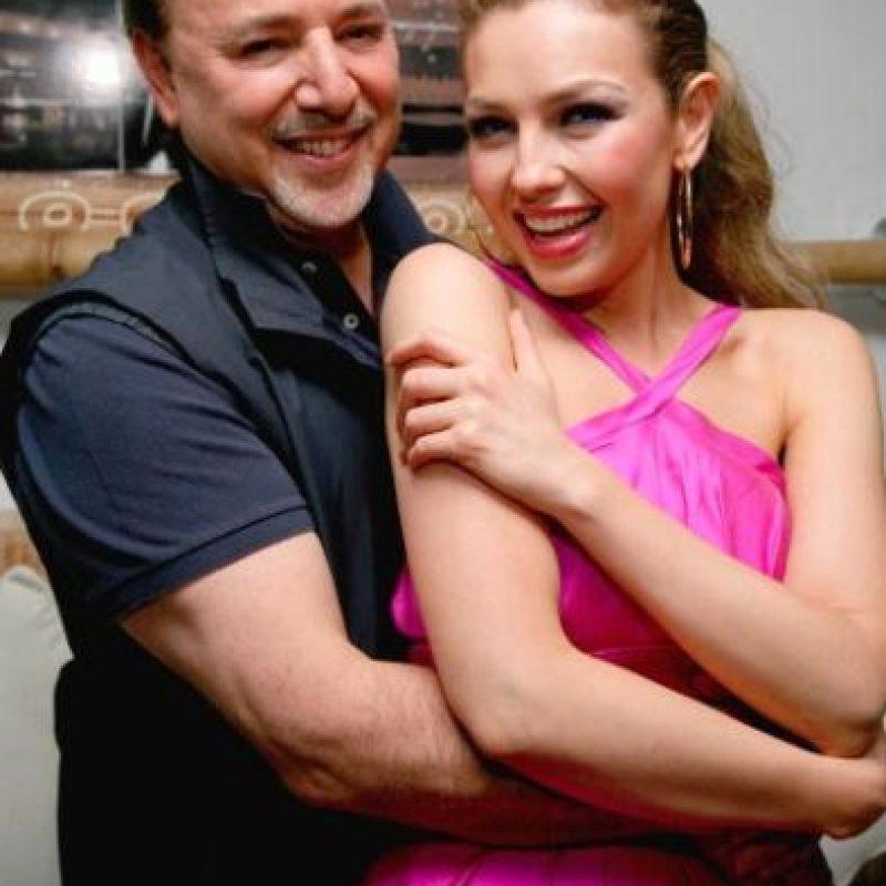 """Sitios como """"Daily Mail"""" aseguran que entre los invitados se encuetran Thalía y su esposo, Tommy Mottola. Foto:Getty Images"""
