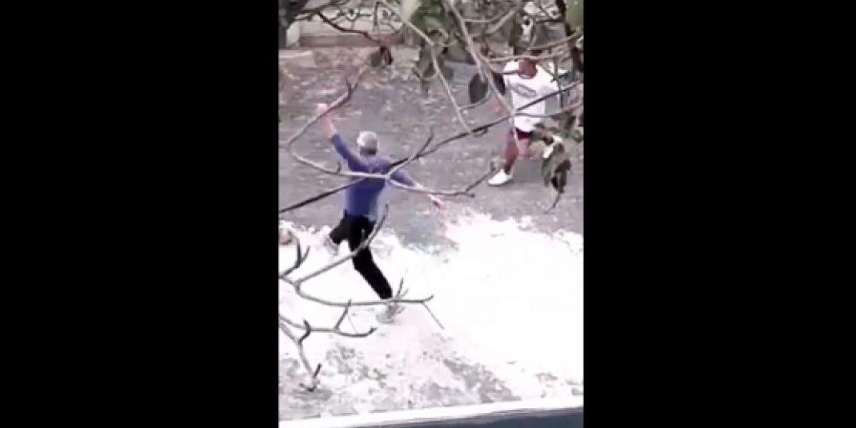 VIDEO. Así se entretenía Otto Pérez con los demás reos en Matamoros