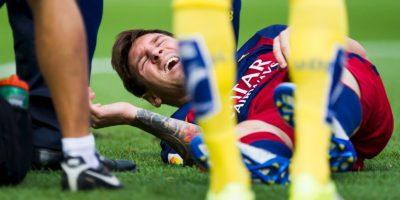 Sufrió una rotura de ligamento colateral interno en la rodilla izquierda Foto:Getty Images