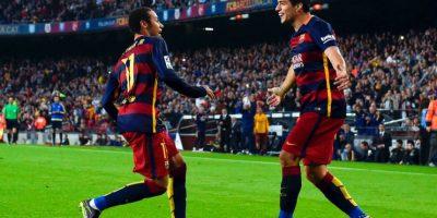11. Neymar y Luis Suárez suman 20 goles en la Liga de España; han marcado más que 17 equipos del campeonato ibérico Foto:Getty Images