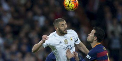 Karim Benzema tuvo un opaco partido. Foto:AFP