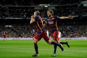 Andrés Iniesta anotó el tercer a gol a los 53′. Foto:Getty Images