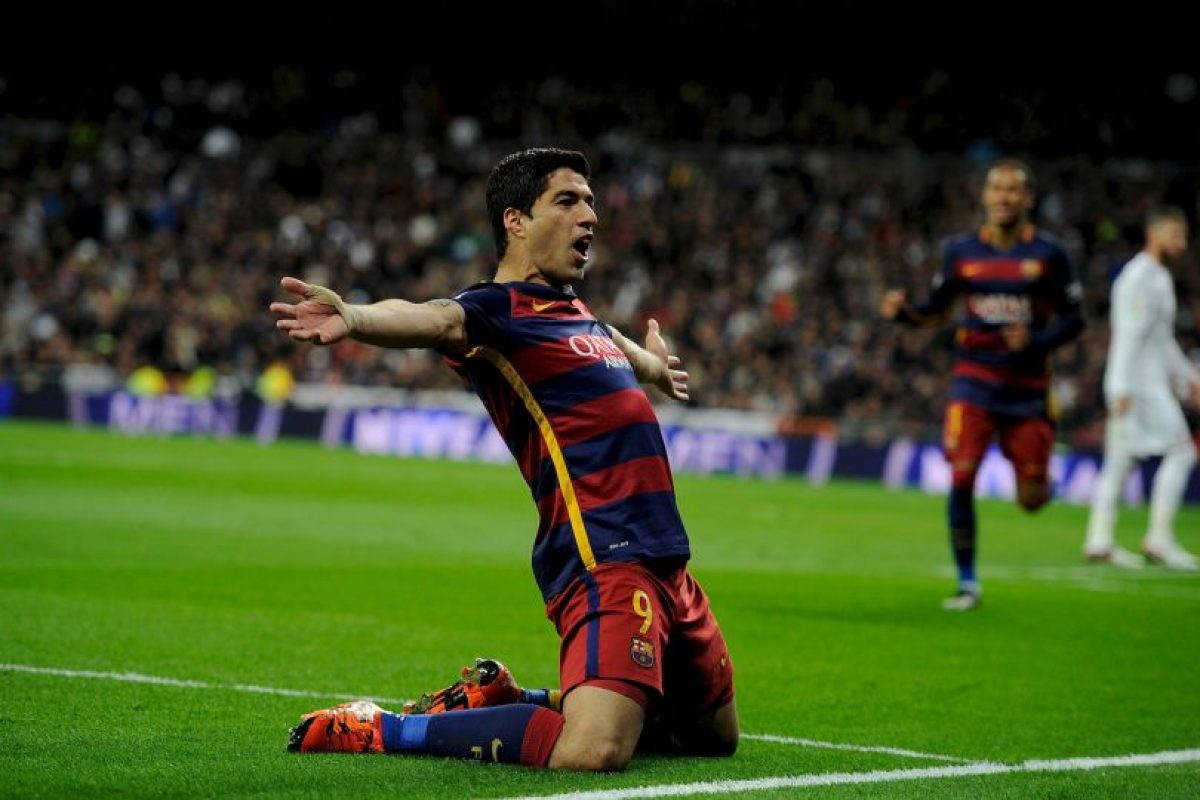 El uruguayo Suárez volvió a marcar a los 74′. Foto:Getty Images