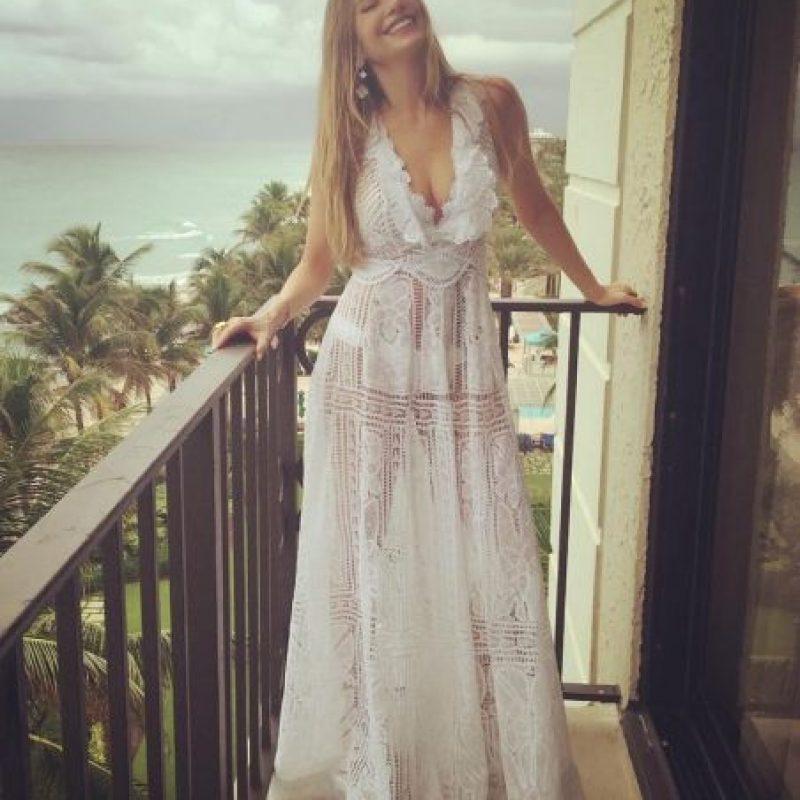 Así luce Sofía Vergara a un día de su boda. Foto:Vía Instagram/sofiavergara