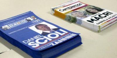 Se reportó que ya había votado el 66% del padrón electoral Foto:AFP