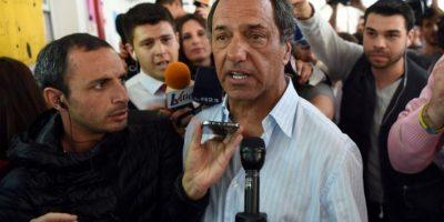 Fue el candidato más votado en las elecciones PASO y ganó la primera vuelta electoral Foto:AFP