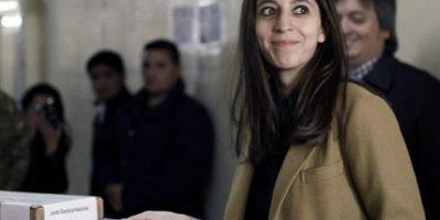 Florencia Kirchner Foto:AFP