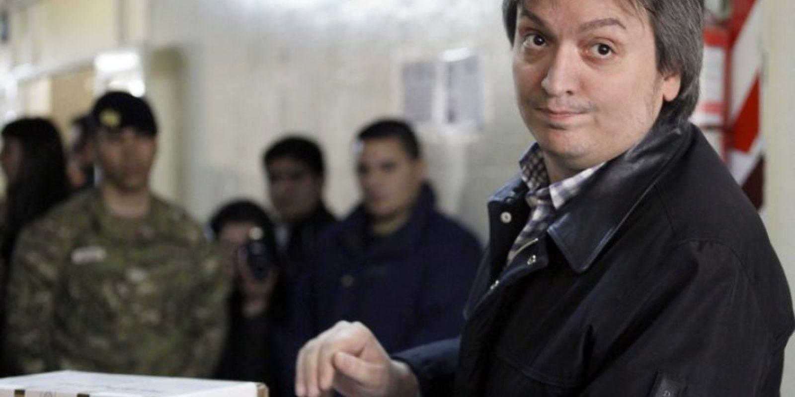 Y Máximo Kirchner Foto:AFP