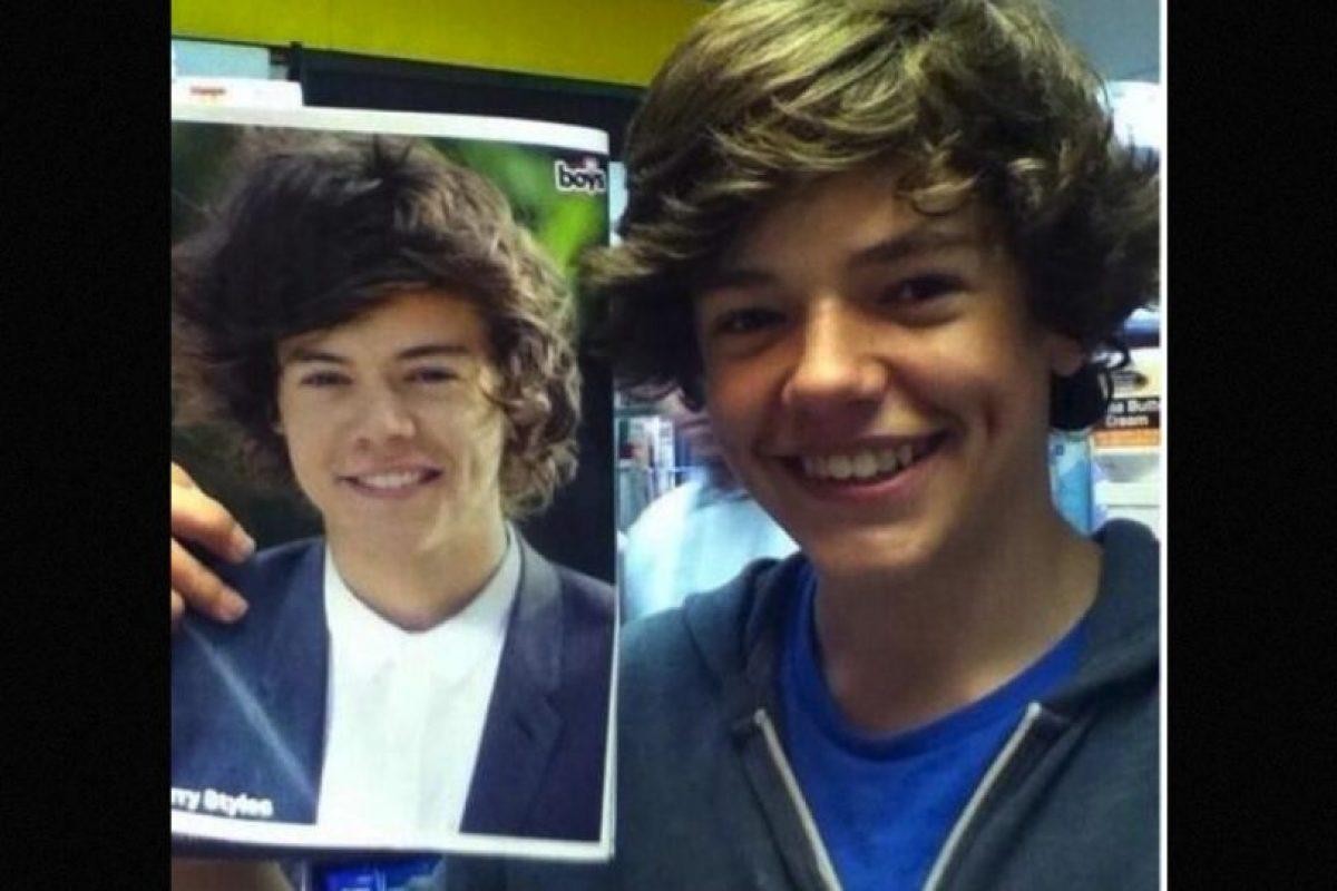 Igual a Harry Styles Foto:Reddit/Getty