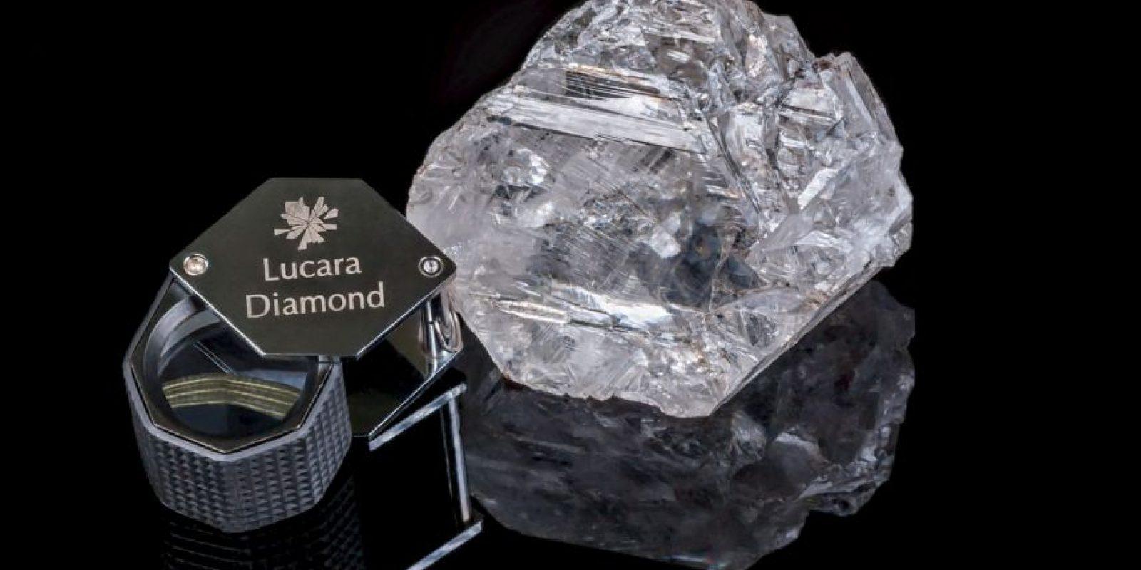 Pasaron más de 100 años para que se encontrara un diamante de este tamaño. Foto:Vía lucaradiamond.com