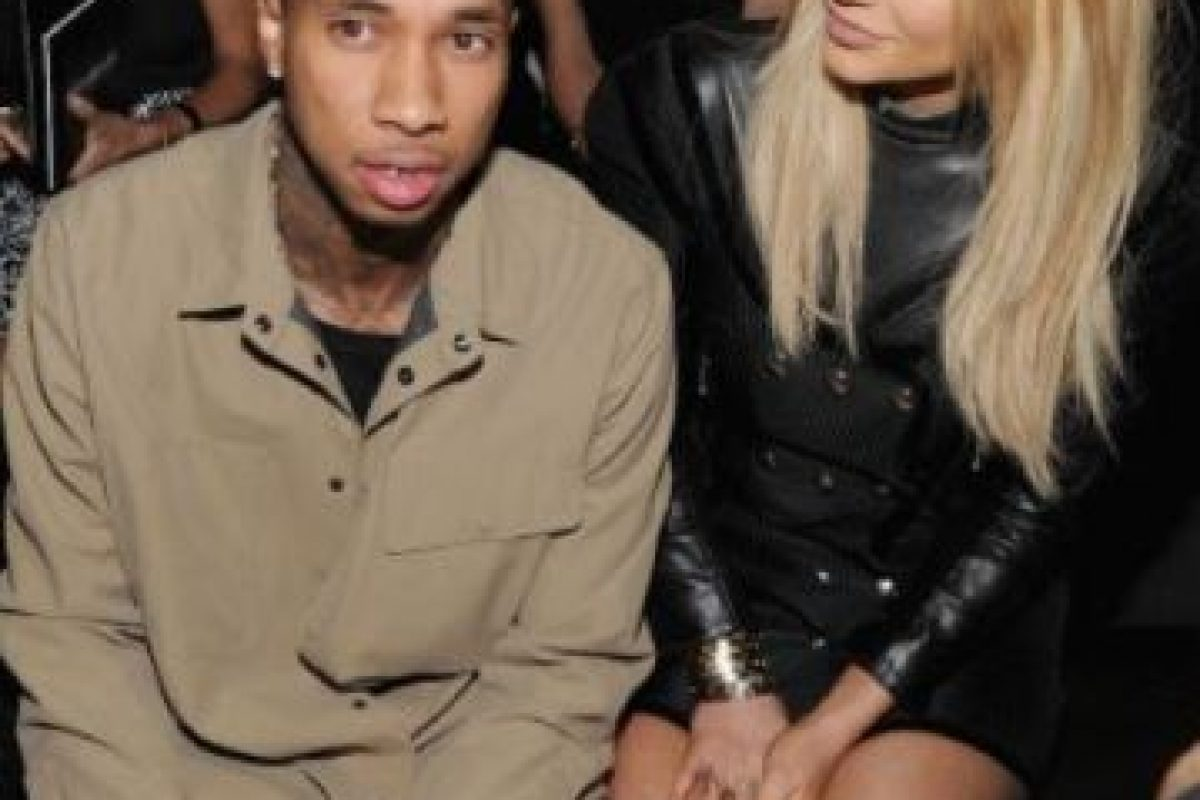 Así lucía Kylie Jenner y Tyga Foto: Getty Images