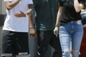 Kylie Jenner y Tyga Foto: Grosby Group