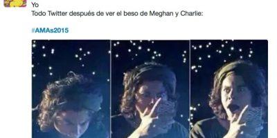 El beso de Meghan Trainor y Charlie Puth Foto:Vía Twitter