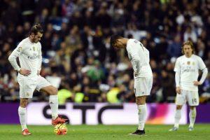 El portugués pasa por un mal momento al igual que el Madrid. Foto:AFP