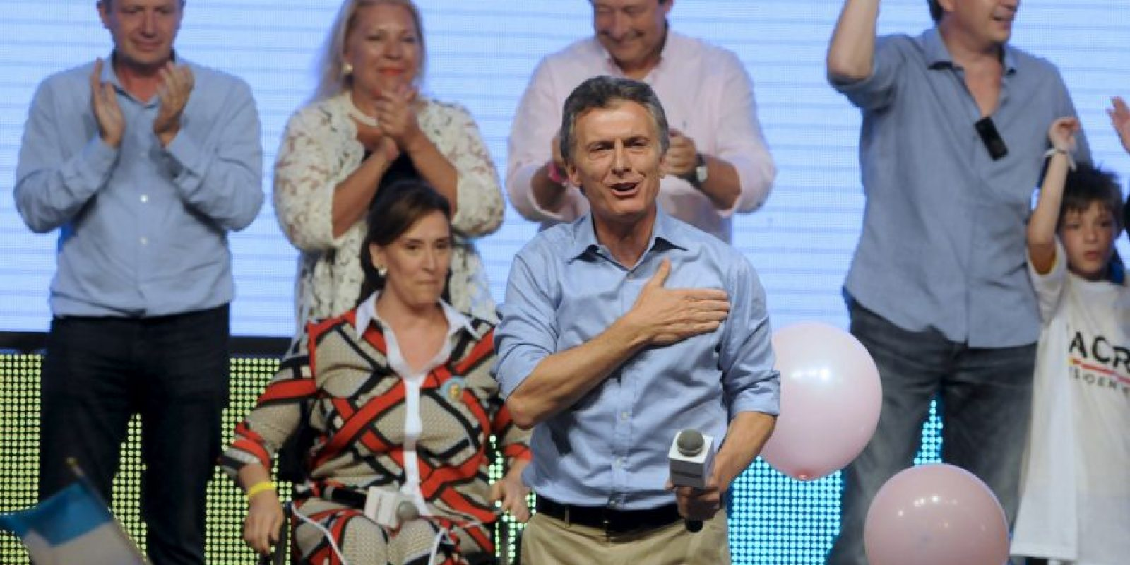 3. De igual forma, se indicó que es una diferencia pequeña, para los 32 millones de votantes que se convocaron a las urnas. Foto:AFP