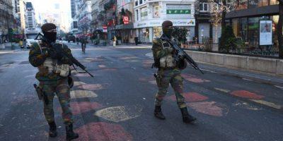 La Policía francesa encontró el cinturón dentro de un contenedor de basura. Foto:AFP