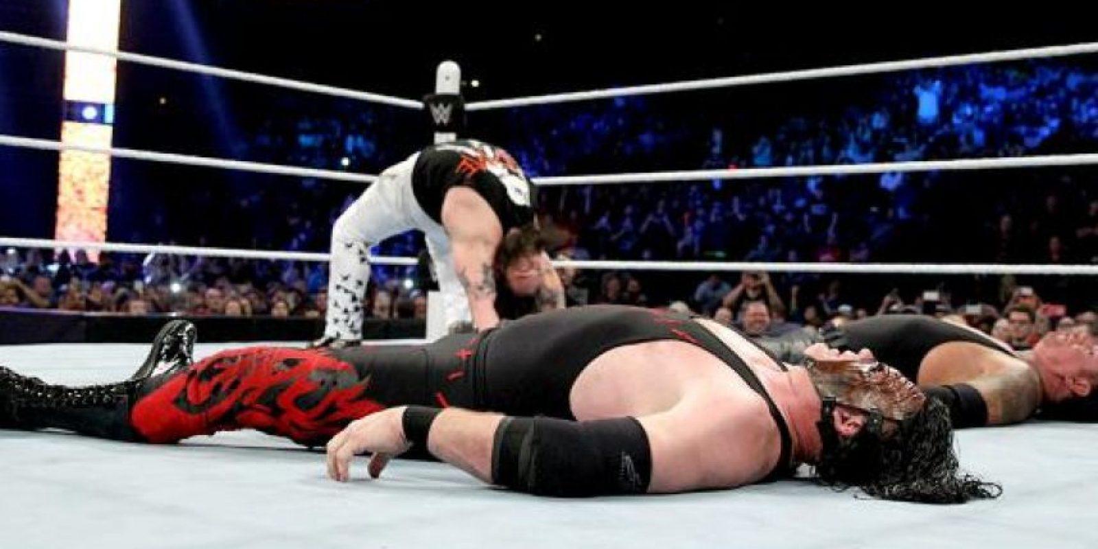 Peleó al lado de Kane Foto:WWE