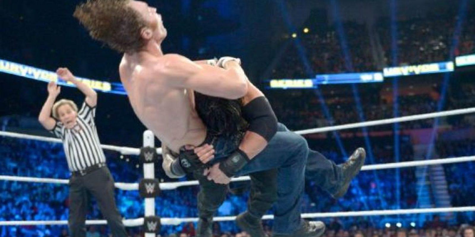 Roman venció en semifinales a Alberto del Río Foto:WWE