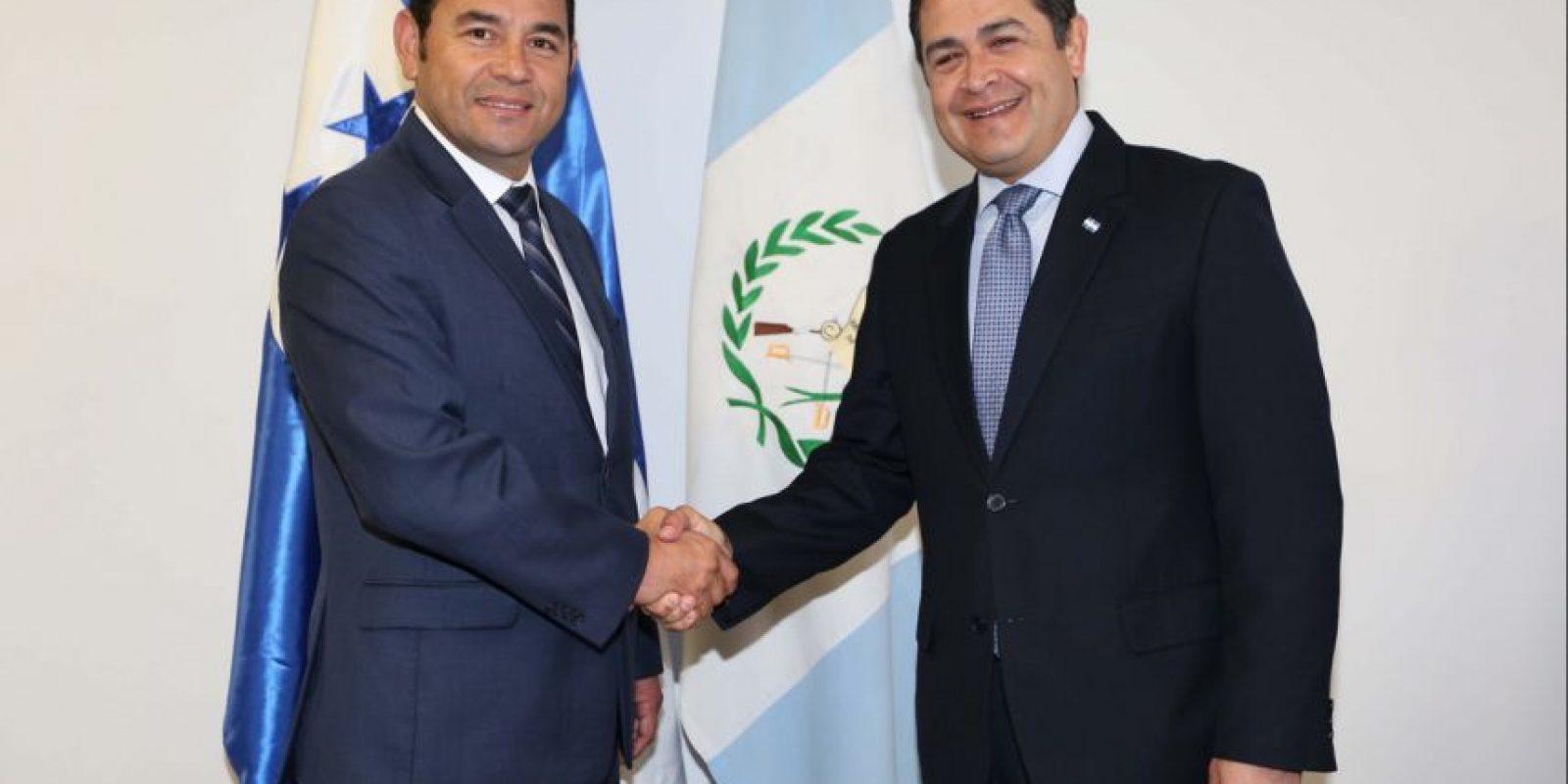 Foto:Presidencia de Honduras