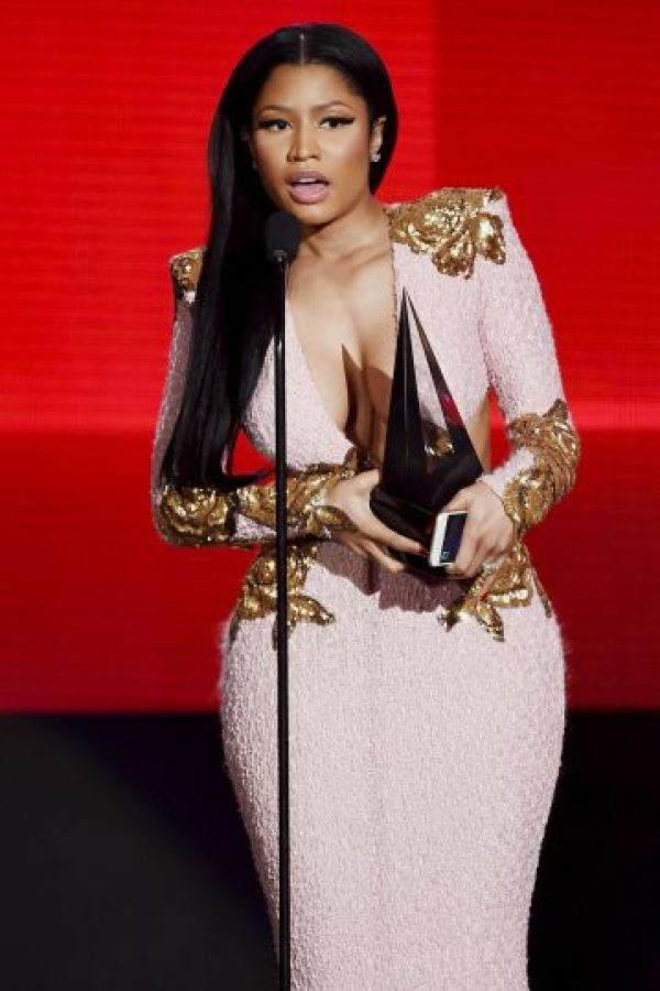 Mejor artista de rap/hip-hop: Nicki Minaj.