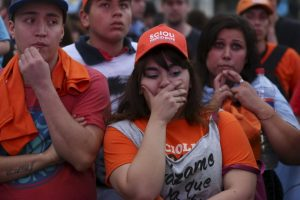El candidato reconoció su derrota Foto: AP