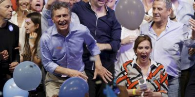 5. Mauricio Macri y Gabriela Michetti asumirán sus cargos el próximo 10 de diciembre. Foto:AP