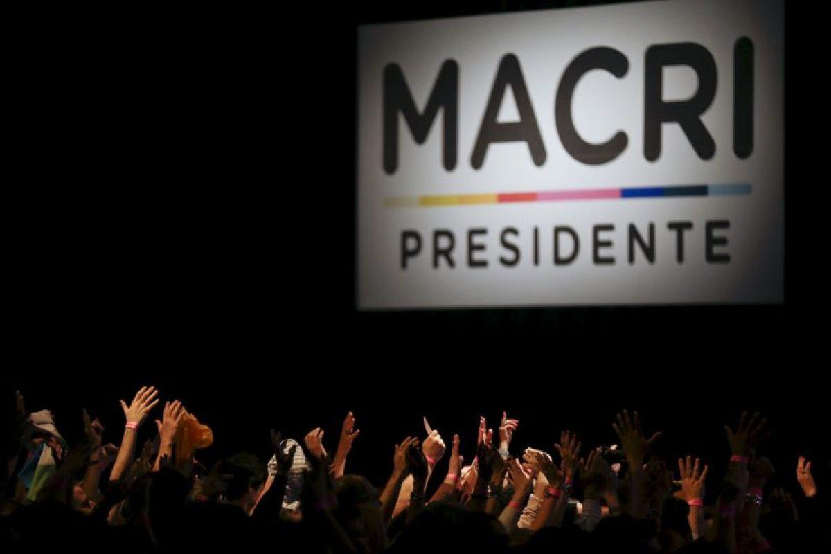 En donde se reunió con sus seguidores Foto:AP