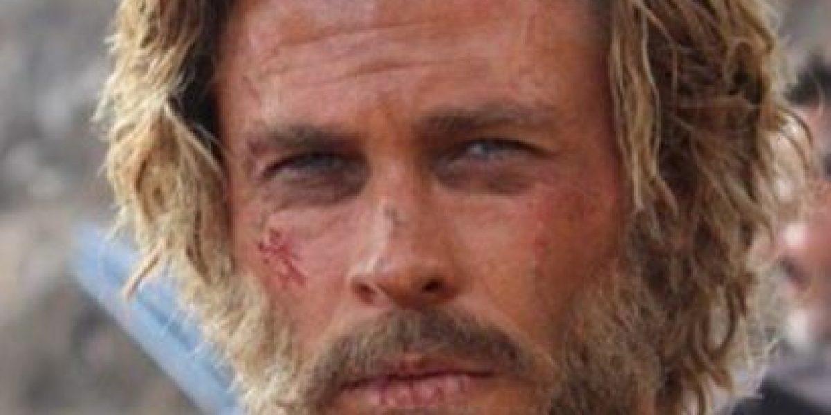 Adiós, músculos... Chris Hemsworth luce irreconocible con su nueva dieta